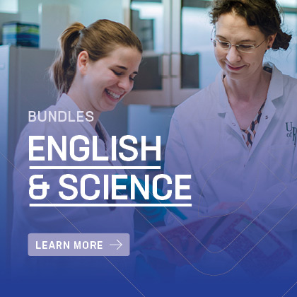 English and Science bundles offered at Luther College University | Awaken to a World of Opportunity