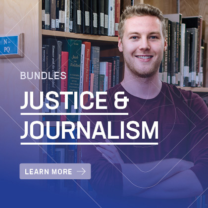 Justice and Journalism bundles offered at Luther College University | Awaken to a World of Opportunity