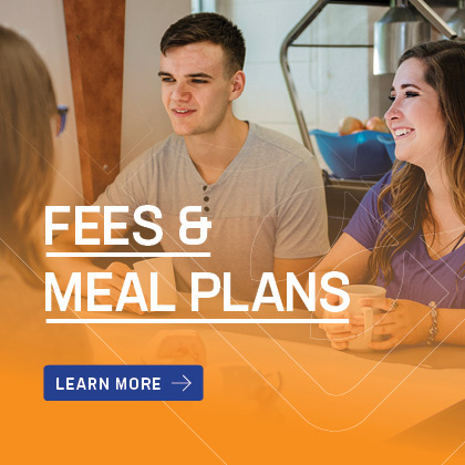 Learn more about fees and meal plans at The Student Village