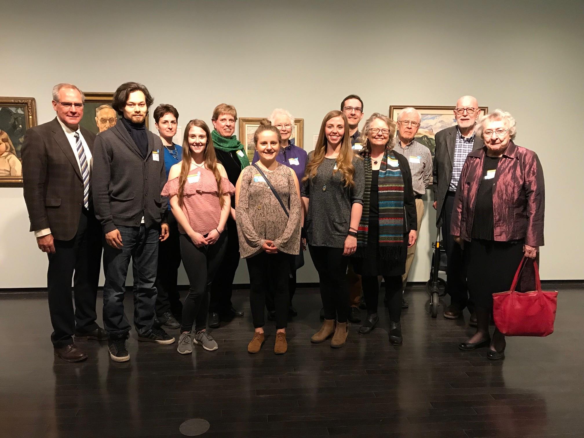 Edmonton Alumni, 2018 at the Art Gallery of Alberta