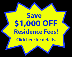 Save 1000 dollars in residence fees at the Student Village at Luther College