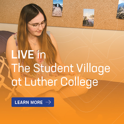 Learn more about living in The Student Village at Luther College